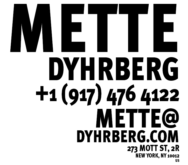Mette Dyhrberg's contact info